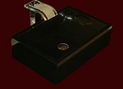 Nero Assoluto Granit Waschbecken No18