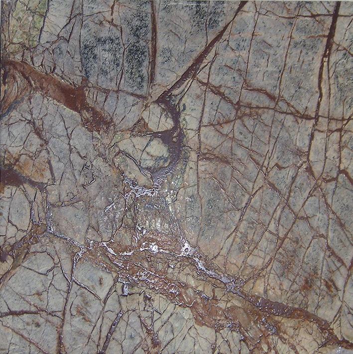 Rain Forest Brown Marmor Fliesen