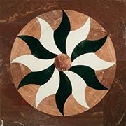 Marmor Intarsien Einlegeplatte Art No.13