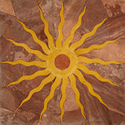 Intarsien Marmor Einlegeplatte Art No.14