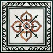 Edelstein Intarsien Einlegeplatte Art No.4