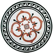 Marmor Intarsien Einlegeplatte Art No.4
