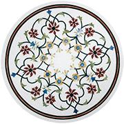 Marmor Intarsienplatte Art No.8