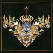 Edelstein Intarsien Einlegeplatte Art No.9