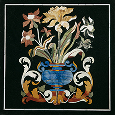 Pietra Dura Intarsia Einlege Platten