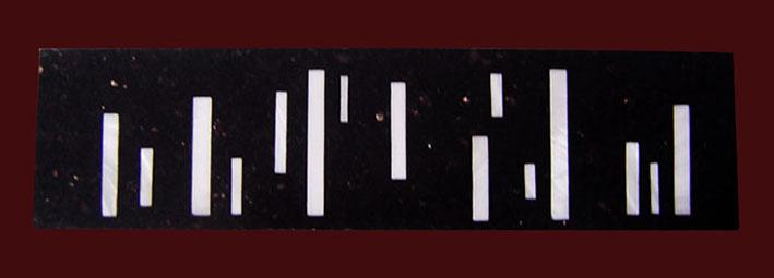Pietra Dura Intarsien Star Galaxy-Perlmutt Bordüre No.1