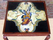 Pietra Dura Edelstein Intarsien Platte