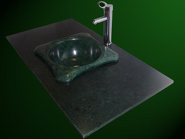 Verde Guatemala Marmor Waschtisch